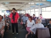 French group - professional discussion along the Danube