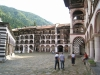 Rila monastery - monk cells