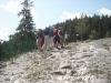 A nice steepy walk - New Zealand group