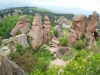 Belogradchik rocks from the top