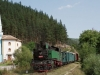 The Rhodope narrow-gauge steam train at Cherna Mesta / Die Rhodopenbahn in Tscherna Mesta