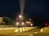 Night photography of a steam train / Nachtaufnahmen vom Dampfzug