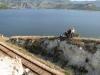 Train journey in the Balkans / Bahnerlebnis auf dem Balkan