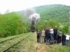 Steam train 03.12 on the way to Kardzhali / Dampfzug 03.12 auf dem Weg nach Kardzhali