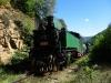 Steam train 609.76 / Dampfzug 609.76