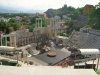 The Roman amphitheater in Plovdiv