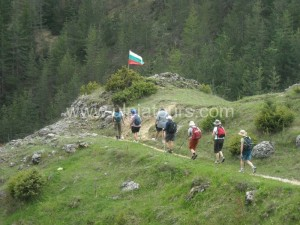 Hiking in Bulgarian mountains