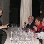 Weinverkostung in Starossel